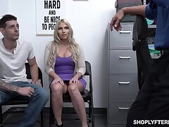 Heavy stepmom Christie Stevens is fucked nearly front of her stepson