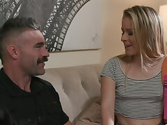 Older man with a huge learn of amazes this fresh girl with insane sex