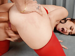 First-Ever ass-fuck hook-up with conceitedly sausage astonished crazy pulchritude