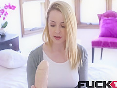 Alexia Gold in No Cash, But I Got A Huge Dildo