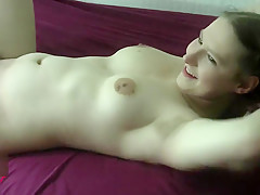 Geil vom Dicken Bären Decken & Besamen lassen ! Nadine Cays Creampie Fuck