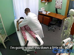 Czech Patients bad back doesn't under legal restraint adulterate bending her over