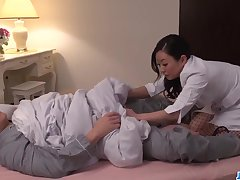 shino izumi strips naked to respect with a obese prick - asian respect