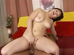 Innocent Looking Young Beamy Teen Riding Cock