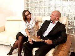 Jada Stevens - Perfect Secretaries Hard Porn