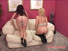 Threesome with Gianna Michaels and Sophie Dee is a day-dream be advisable for this alms-man