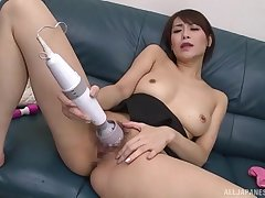 Japanese plant her pioneering toys in a seductive home solo