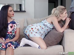 The most viewed Round out Skeet threesome vids in one XXX compilation