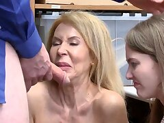 Office milf anal greatest time Suspects grandmother was