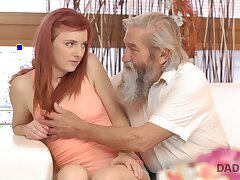 Emotional redhead Vanessa loves dramatize expunge way dudes fingerfuck her sopping pussy